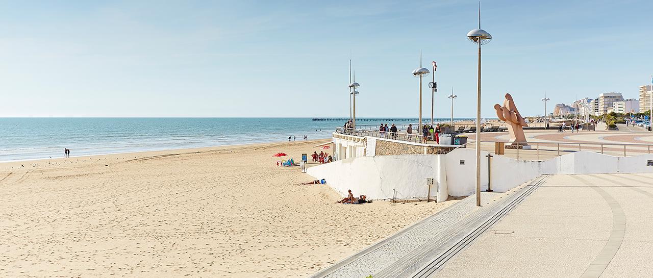 La grande plage de Saint-Jean-de-Monts