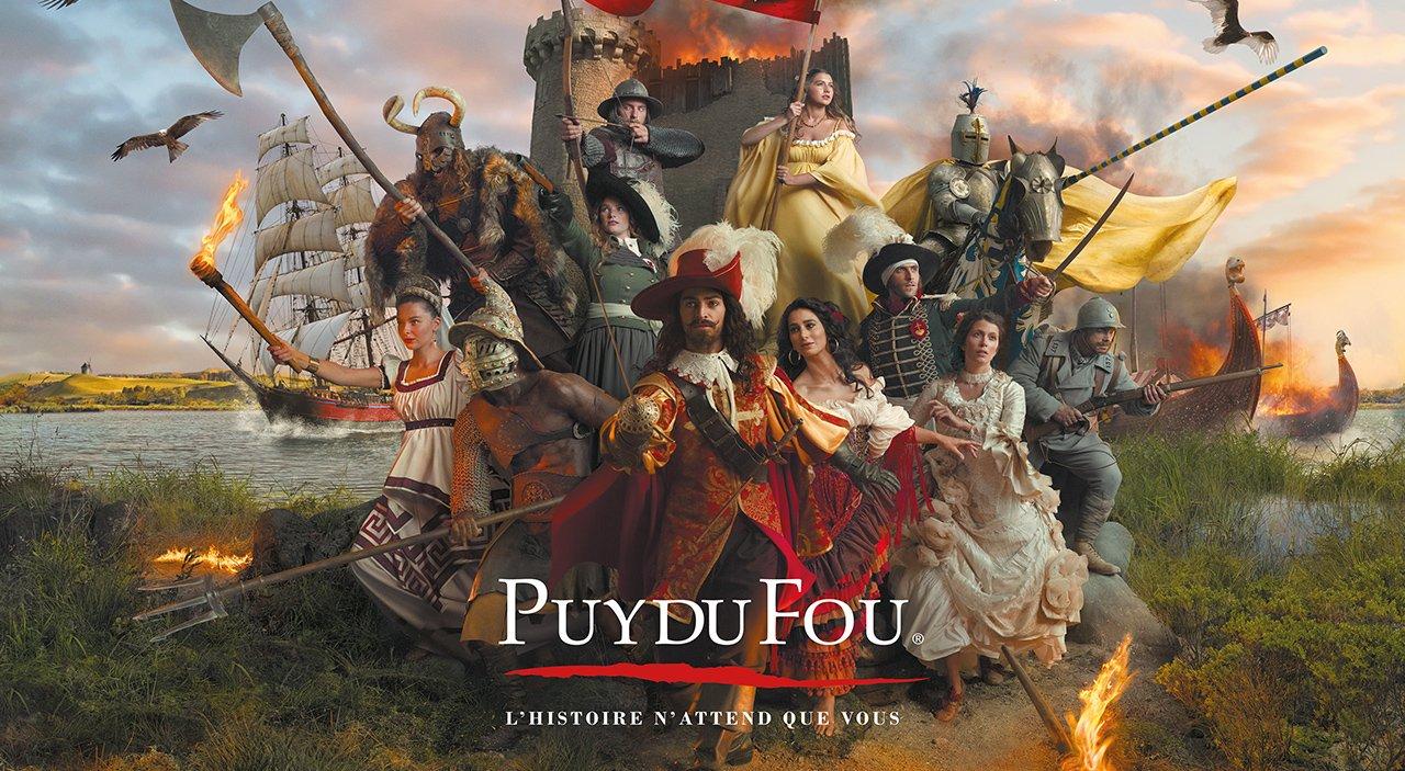 Le Puy du Fou, une excursion incontournable