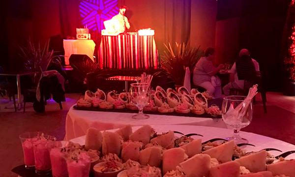 Cap France soirée buffet