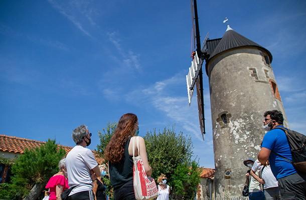 Moulin de Rairé, visite extérieure