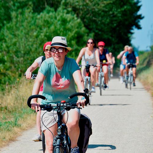 Séjour de groupe en vélos